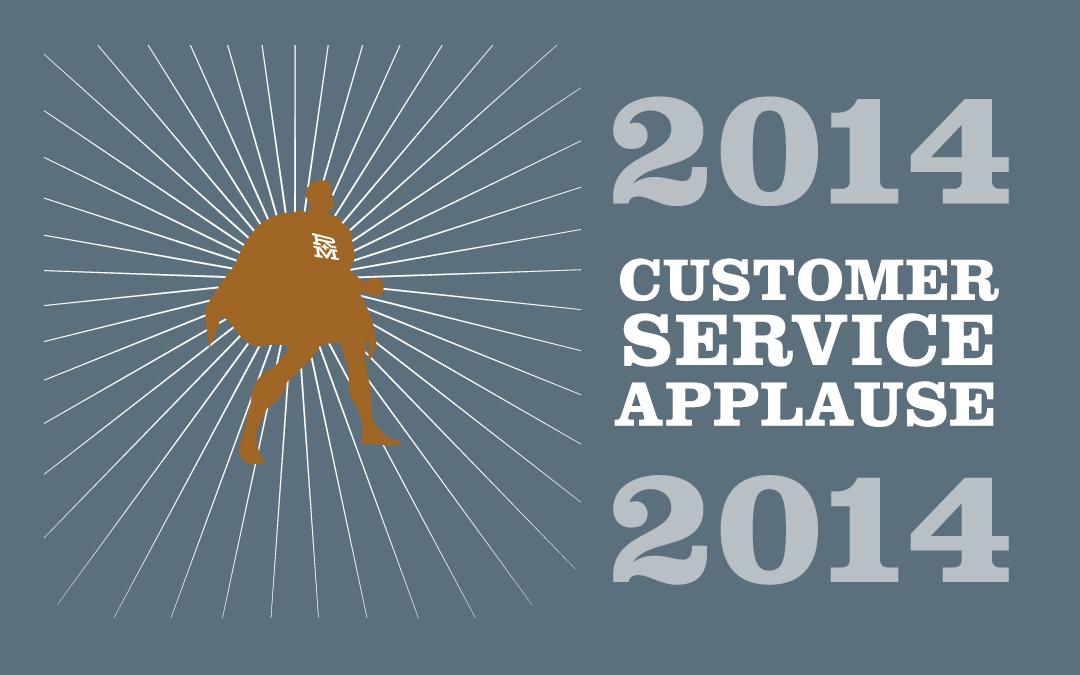 2014 Customer Service Applause