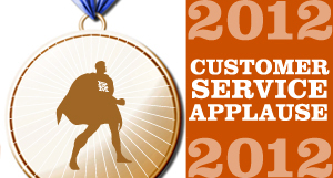 2012 Customer Applause Winners