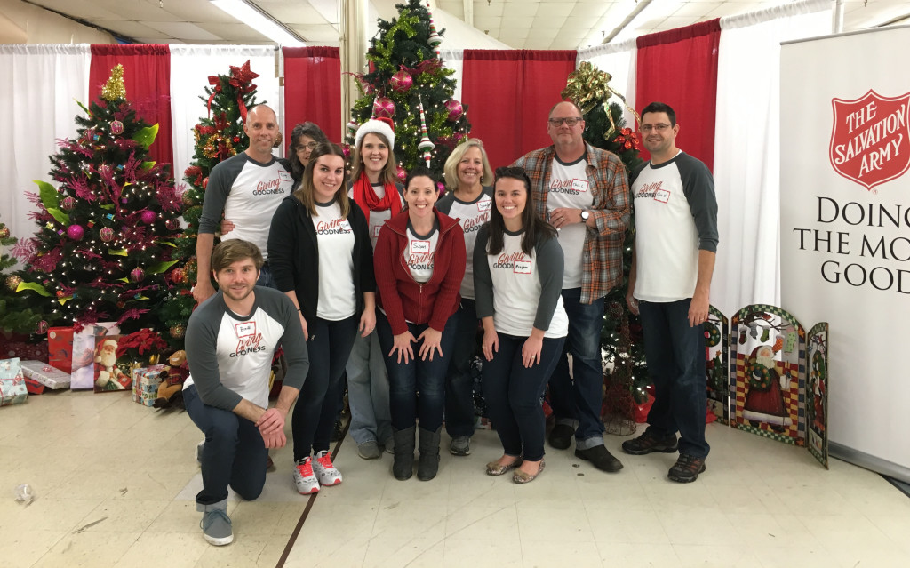 #GivingGoodness at The Salvation Army
