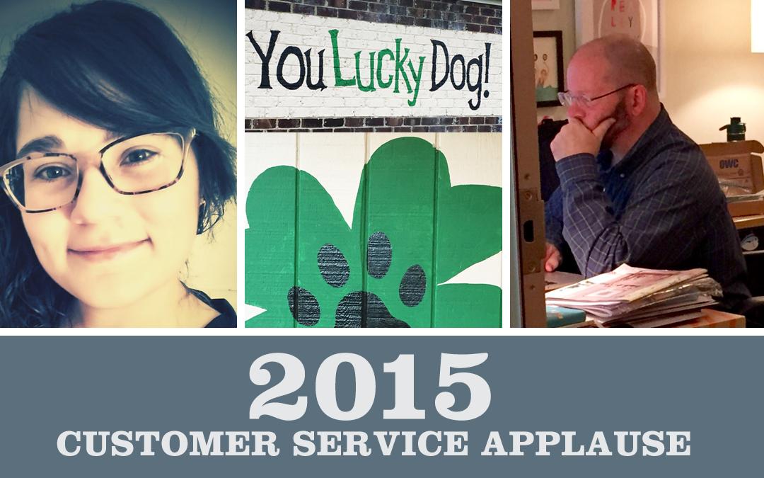 2015 Customer Service Applause