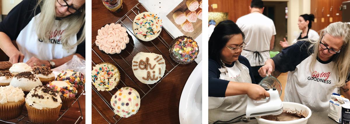 R+M cupcakes