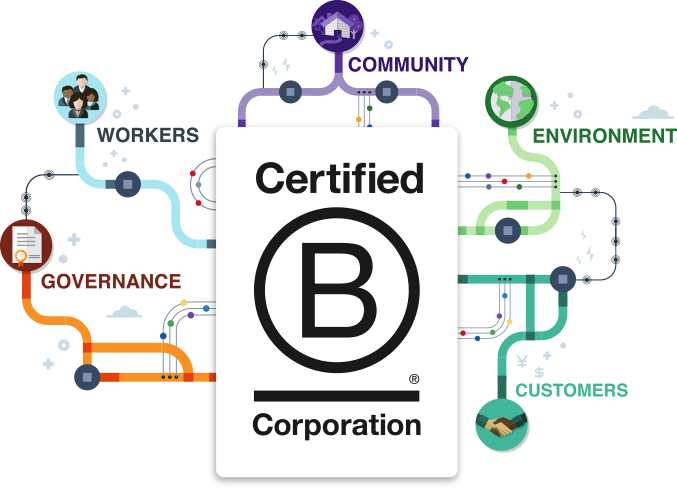 B Corp Assessment Areas